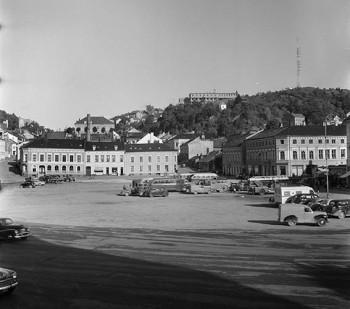 Rutebilstasjonen 1954