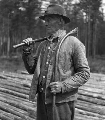 Skogsarbeider